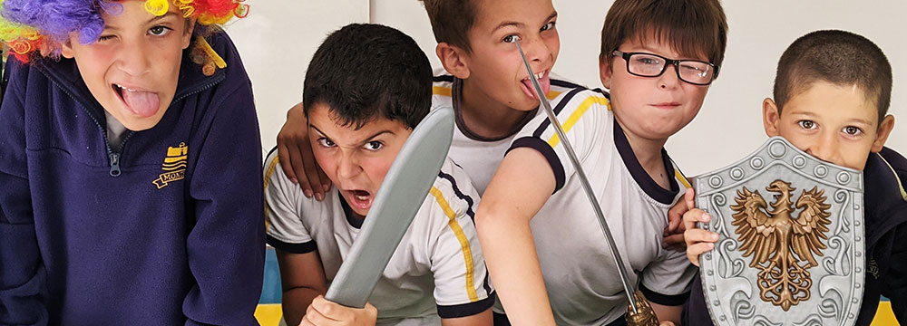3rd Grade Drama class (2020)